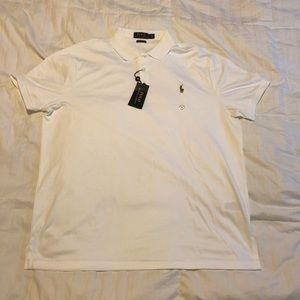 Ralph Lauren Polo Shirt - White - XL - NWT